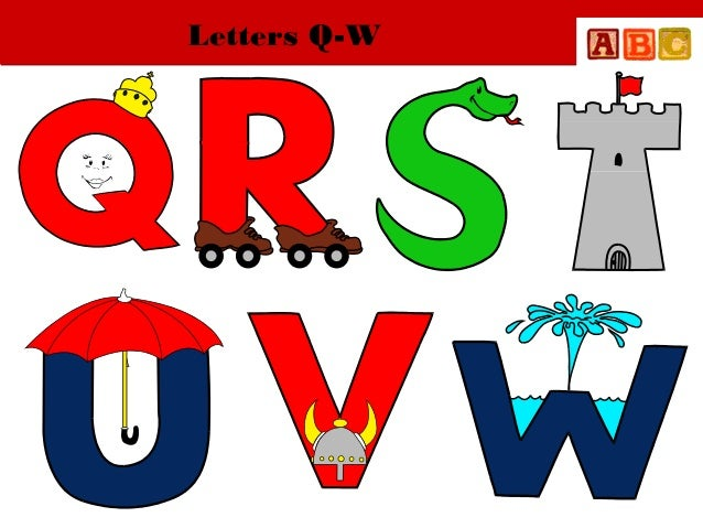 Letters Q-W