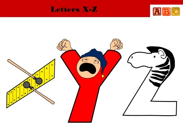 Letters X-Z