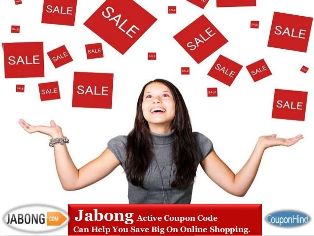 Jabong online shopping discount coupons