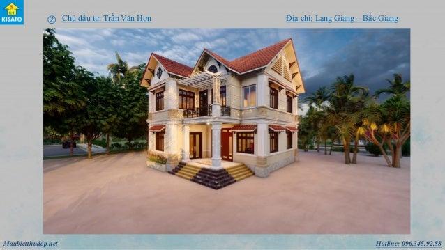 Hotline: 096.345.92.88Maubietthudep.net  Chủ đầu tư: Trần Văn Hơn Địa chỉ: Lạng Giang – Bắc Giang