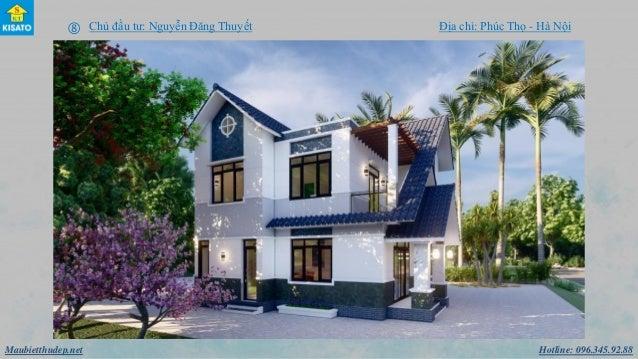Hotline: 096.345.92.88Maubietthudep.net  Chủ đầu tư: Nguyễn Đăng Thuyết Địa chỉ: Phúc Thọ - Hà Nội