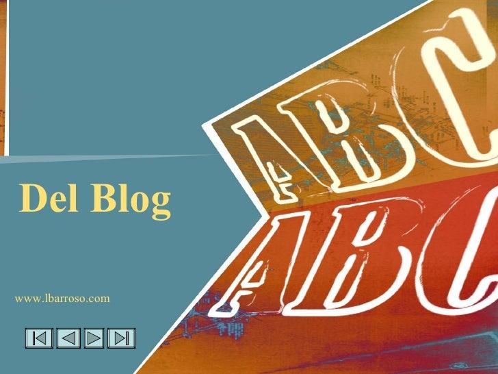 Del Blog www.lbarroso.com