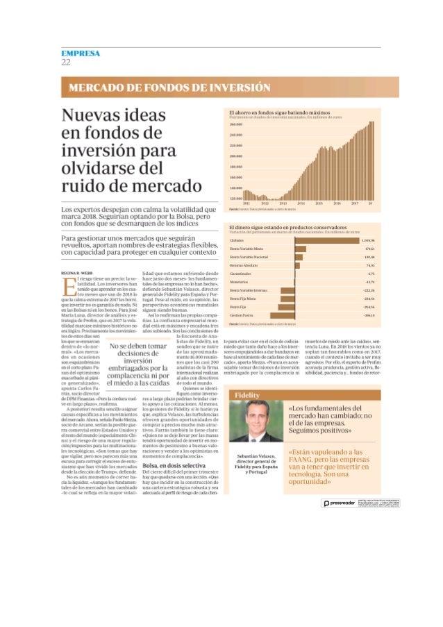 Nuevas ideas de fondos de inversor para olvidarse del ruido del mercado