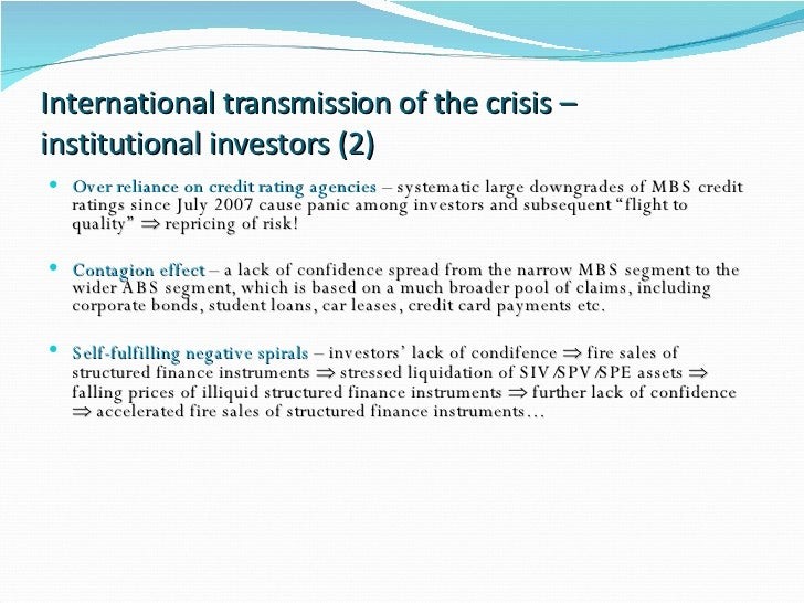 financial crisis 2008 causes and effects pdf
