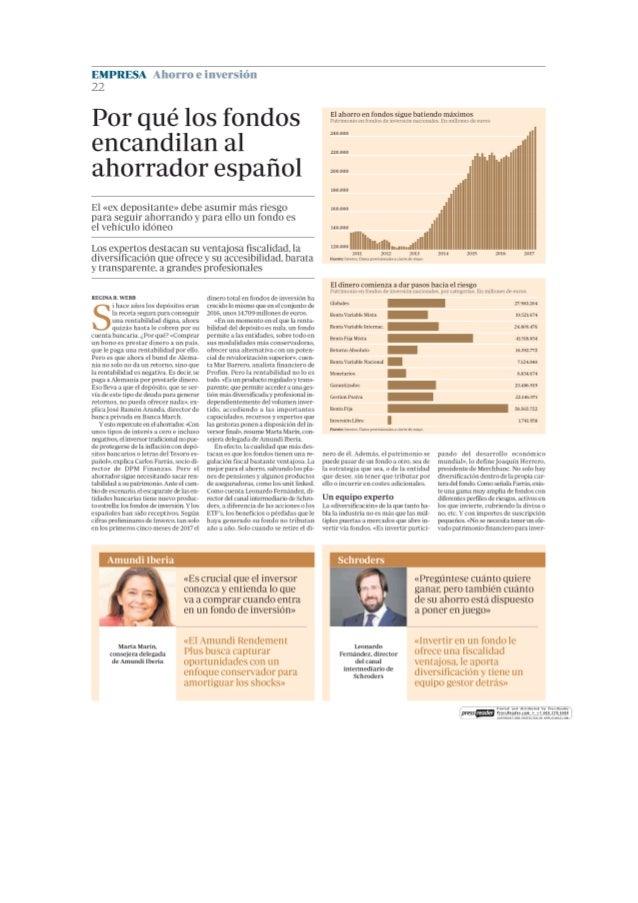 Por qué los fondos encandilan al ahorrador español