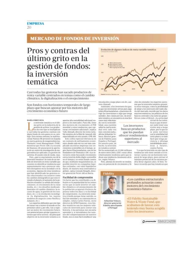 Pros y contras del último grito en la gestión de fondos: la inversión temática