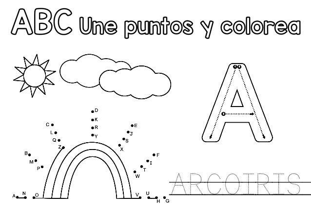 Abc une-puntos-traza-y-colorea
