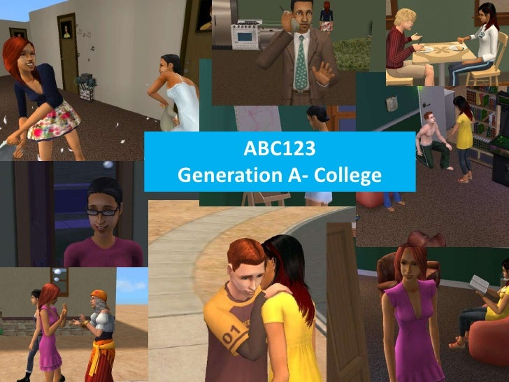 ABC123Generation A- College
