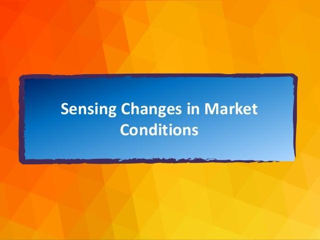 dja@djaa.com @djaa_dja Copyright David J. Anderson & Associates (UK) Ltd. Sensing Changes in Market Conditions