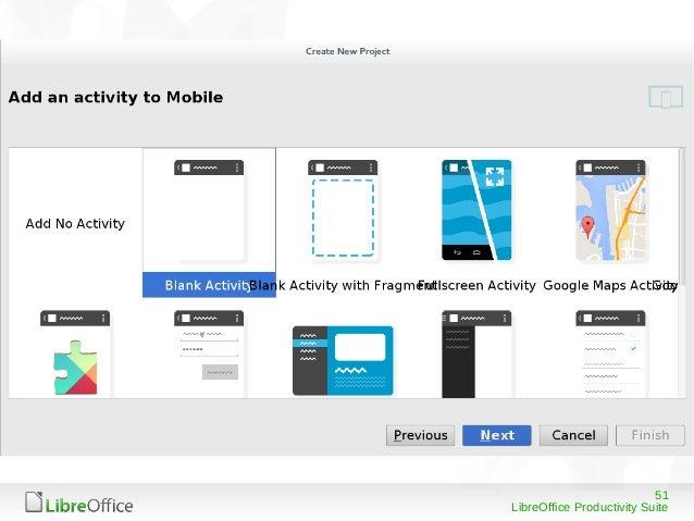 51 LibreOffice Productivity Suite