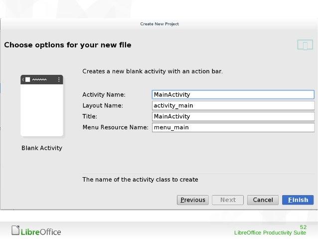 52 LibreOffice Productivity Suite