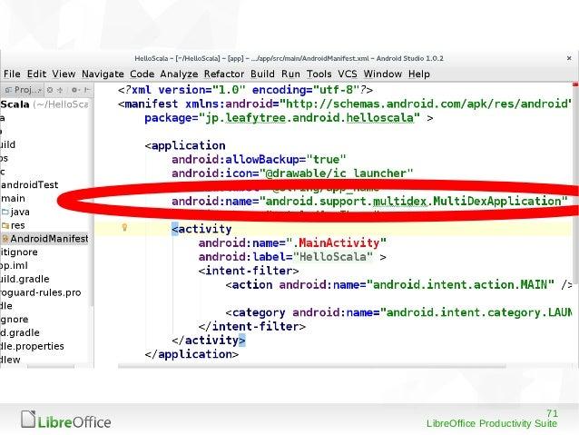 71 LibreOffice Productivity Suite