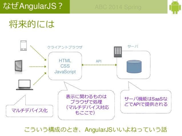 【ABC2014Spring LT】AngularJSでWEBアプリ開発