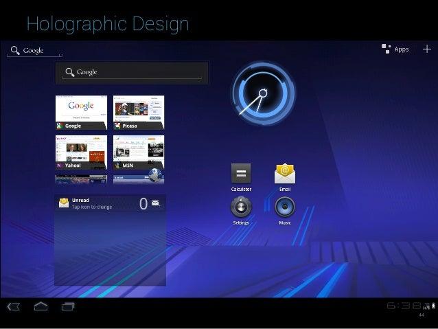 Holographic Design 44
