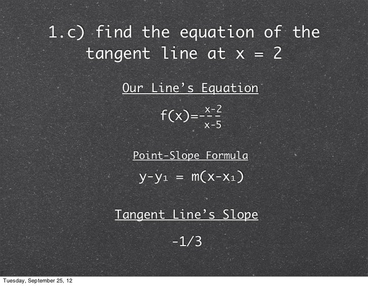 Calculus Ab Slope Of Secant And Tangent Lines
