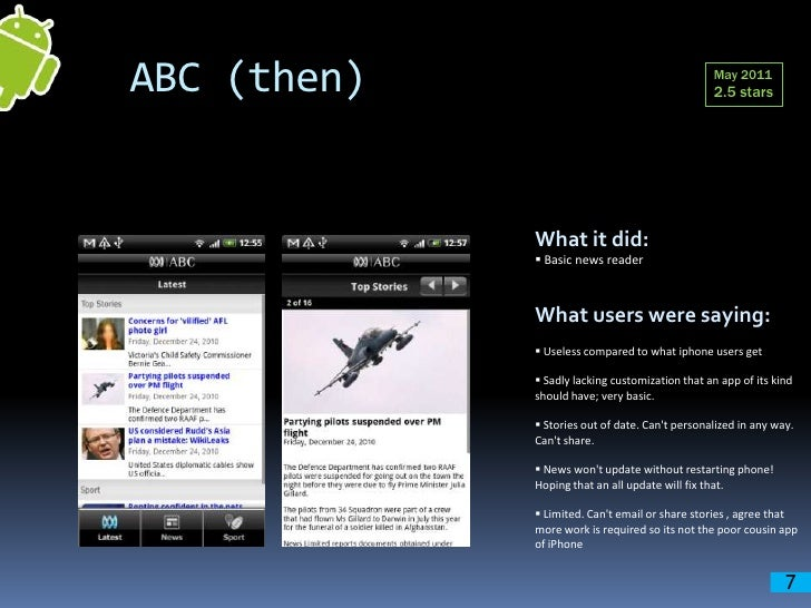 Abc android case study