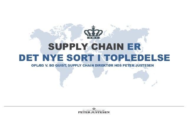 Supply Chain er det nye sort i topledelse