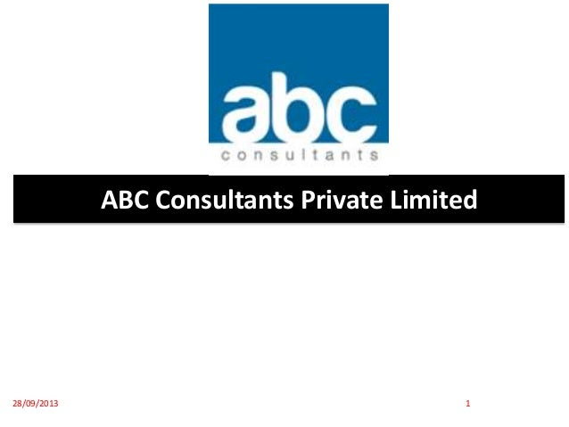 ABC Consultants Private Limited 28/09/2013 1