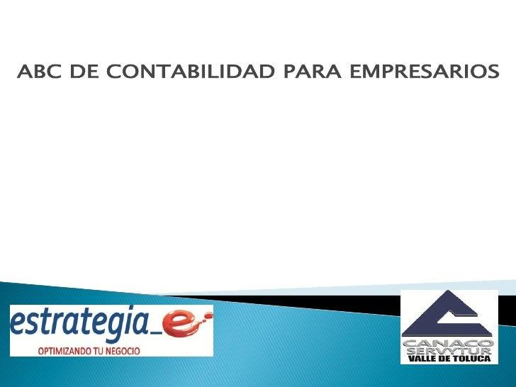 DEFINICION DE CONTABILIDADTipos de ContabilidadPrincipios de ContabilidadCONCEPTO DE PROCESO CONTABLELas operaciones econó...