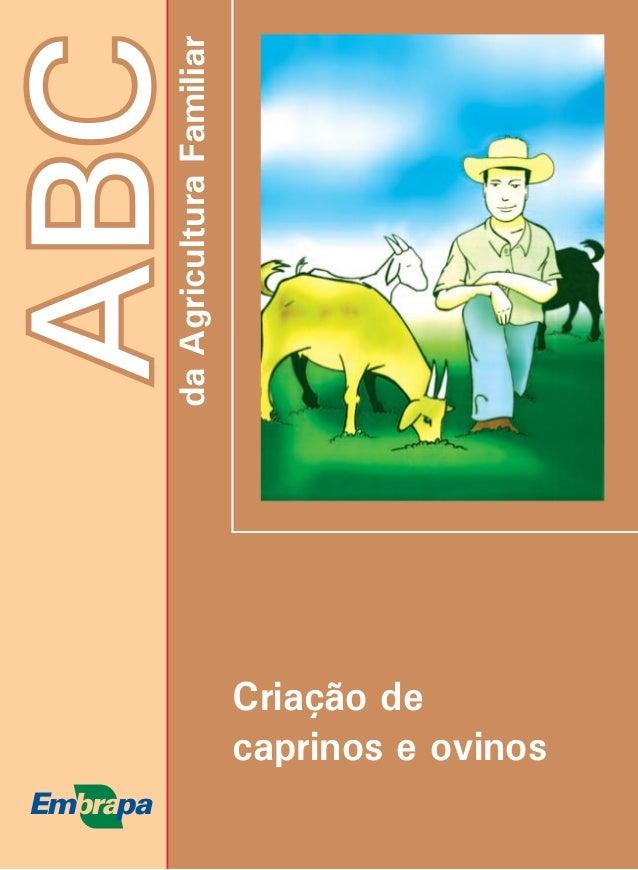 ABCdaAgriculturaFamiliar Criação de caprinos e ovinos