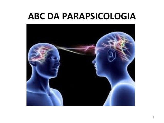 ABC DA PARAPSICOLOGIA 1