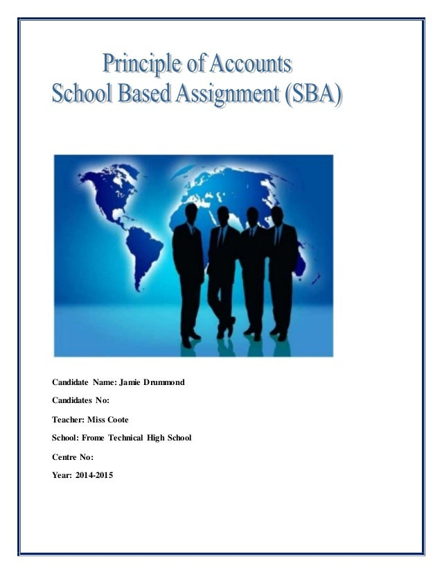 principles of accounts sba sample