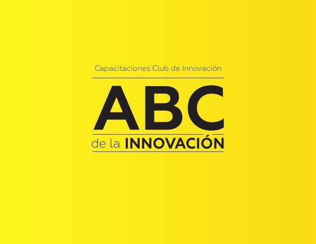 1 Capacitaciones Club de Innovación