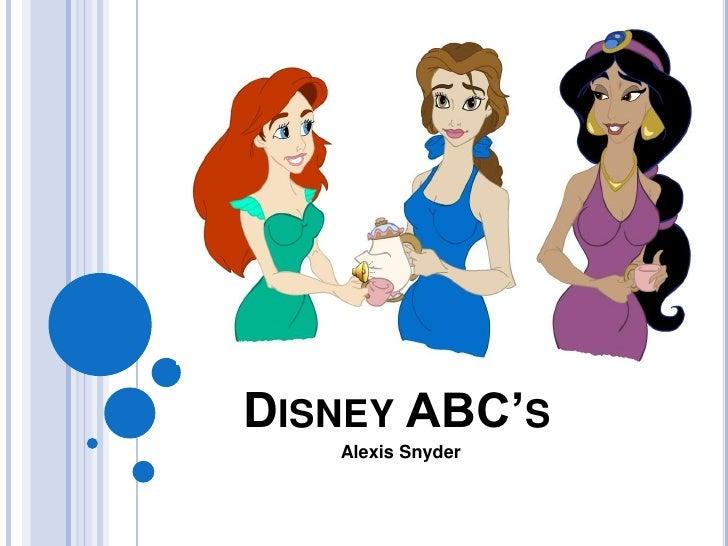 Disney ABC's<br />Alexis Snyder<br />