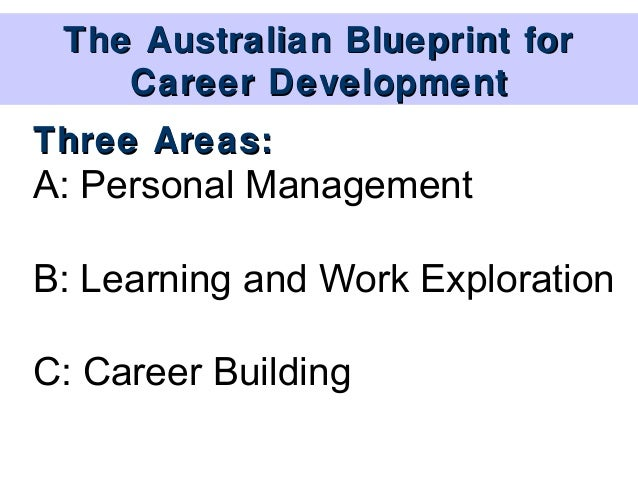 The australian blueprint for career development phase i competency 21 12 the australian blueprint for career malvernweather