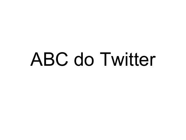 ABC do Twitter