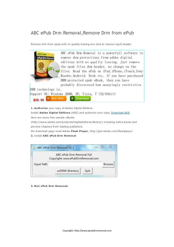 ABC ePub Drm Removal,Remove Drm from ePubRemove drm from epub with no quality lossing,one click to remove epub header.    ...