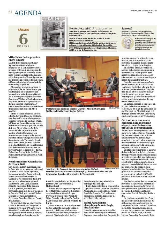 VIII edición de los premios Know Square La Red de Conocimiento Know Square ha seleccionado diez finalistas en la VIII edic...