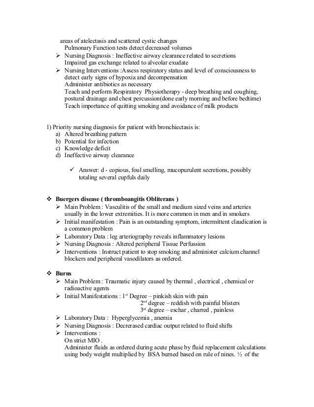 Copd Nursing Diagnosis Impaired Gas Exchange - Kronis u
