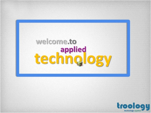 technologywelcome.toapplied