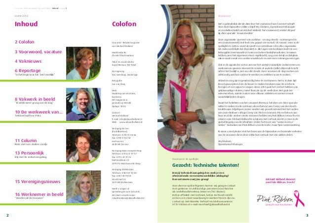 Concreet • Relatiemagazine AB Zuid-Holland • Inhoud • Pagina 2 Concreet • Relatiemagazine van AB Zuid-Holland Hoofdredacti...