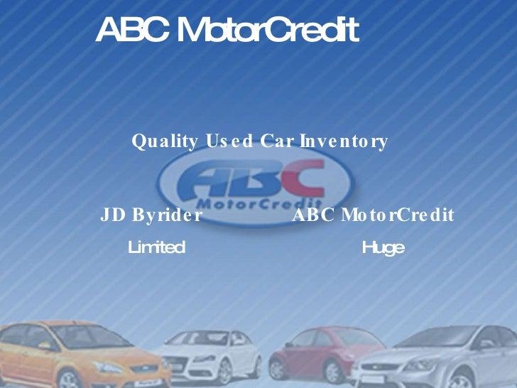 Why Choose Abc Motorcredit Over Jd Byrider