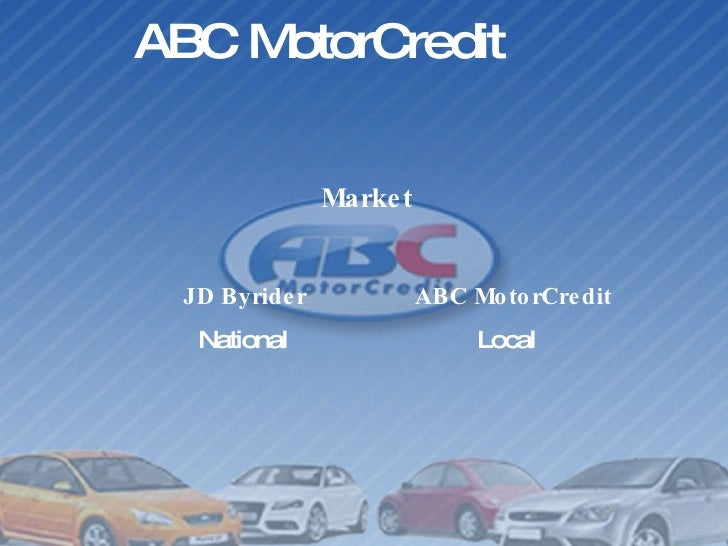 Why choose abc motorcredit over jd byrider for Abc motor credit inventory