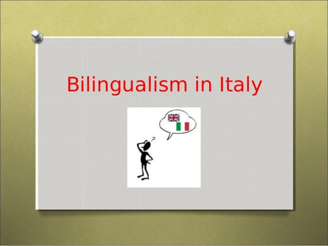Bilingualism in Italy