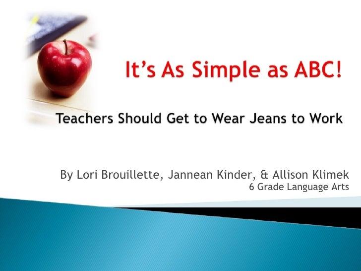 Abc Presentation Ppt