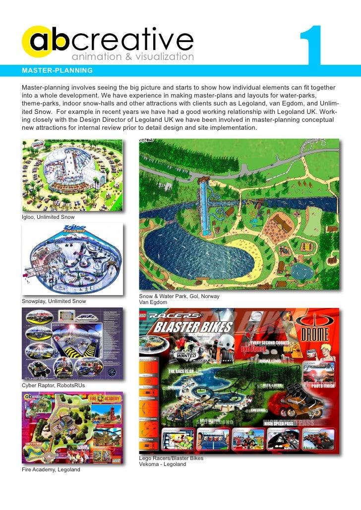 1                    creative                    animation & visualization Master-planning  Master-planning involves seein...