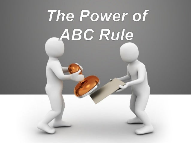 "A = Advisor: All your uplines, crosslines, the managements, the office, and manuals or brochure. Definition of ""ABC"" B = B..."