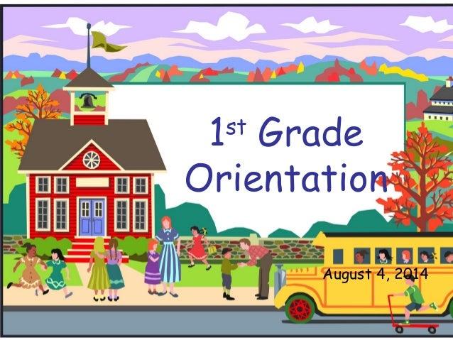 1st-grade-orientation-powerpoint-1-638  Th Grade Alge Powerpoint on