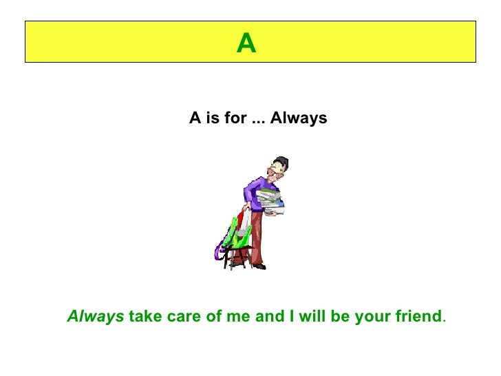 Abc's of book care Slide 2