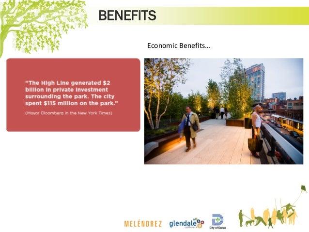BENEFITS Economic Benefits…