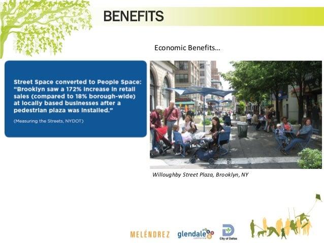 BENEFITS Willoughby Street Plaza, Brooklyn, NY Economic Benefits…