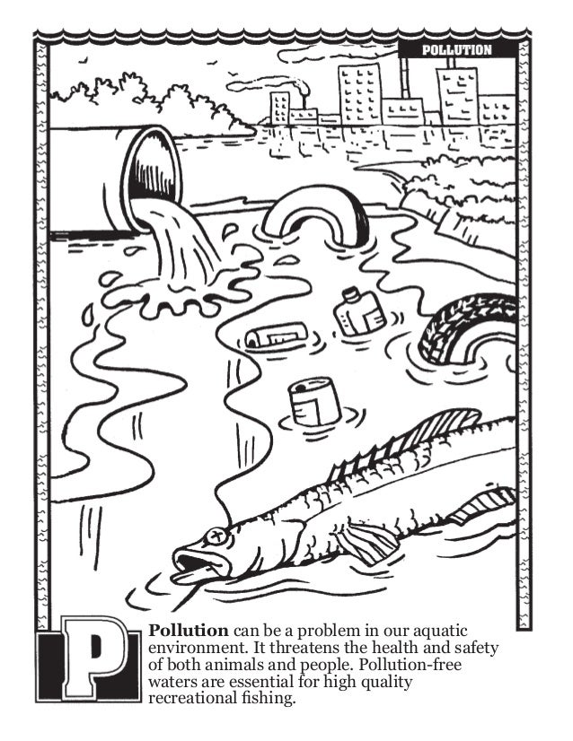 Fishing ABC's Coloring Book