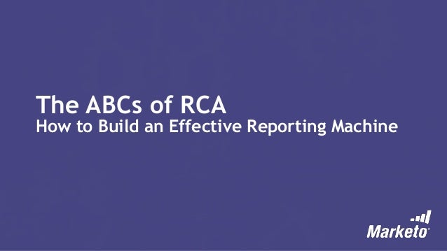 The ABCs of RCA: How to Build an Effective Revenue Machine