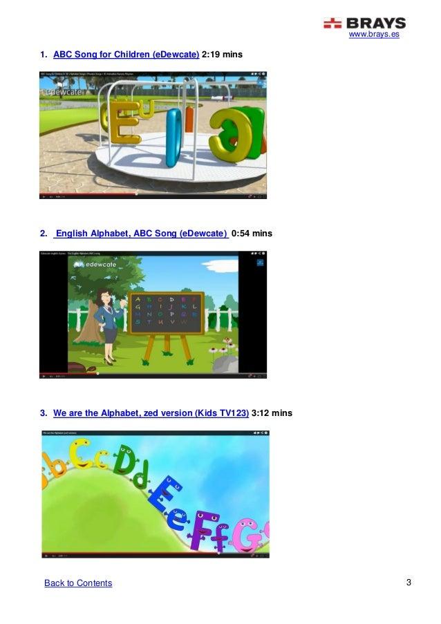 alphabet song for kids