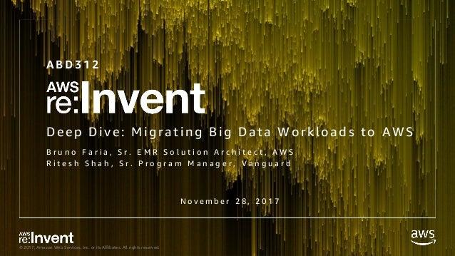 ABD312_Deep Dive Migrating Big Data Workloads to AWS