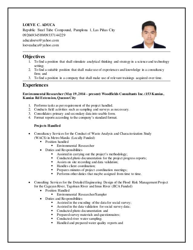 Simple career objective for resume